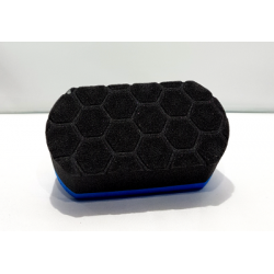 Hex polish pad