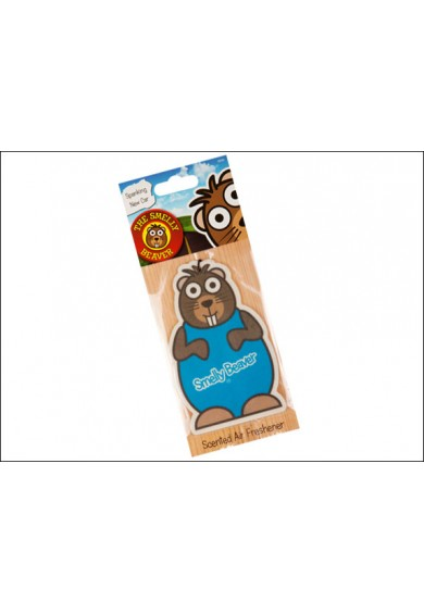 Smelly Beaver -  Spanking New Car Air Freshener